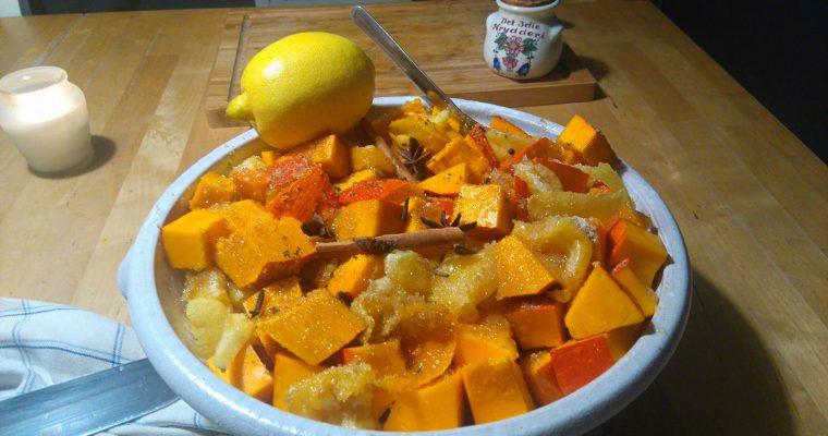 Dýně s pomerančem a se zázvorem